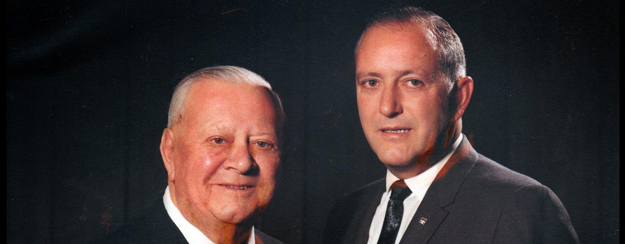 Loren and John Berry circa 1968