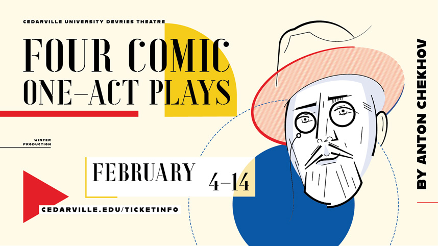 Artwork for Four Comic One-Act Plays