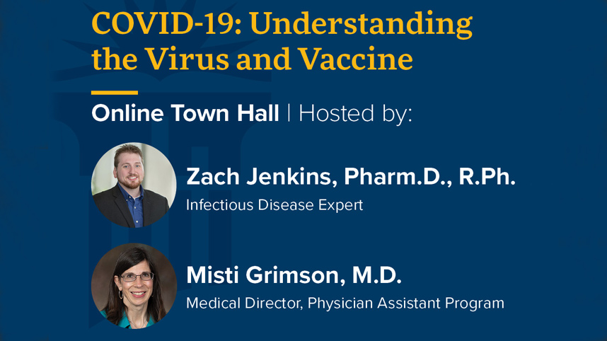 Promotion for COVID-19  vaccine town hall