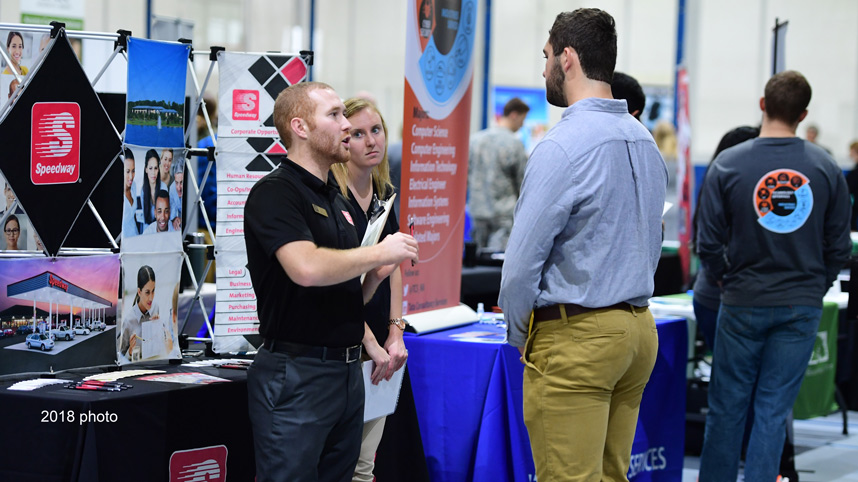 2018 fall career fair