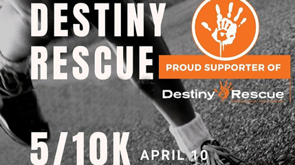 Society of Women Engineers - Destiny Rescue event promo