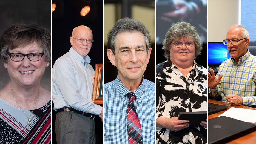 Retiring professors 2021
