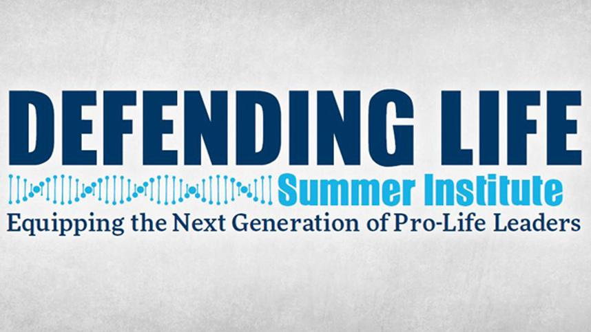 Defending Life Summer Institute logo