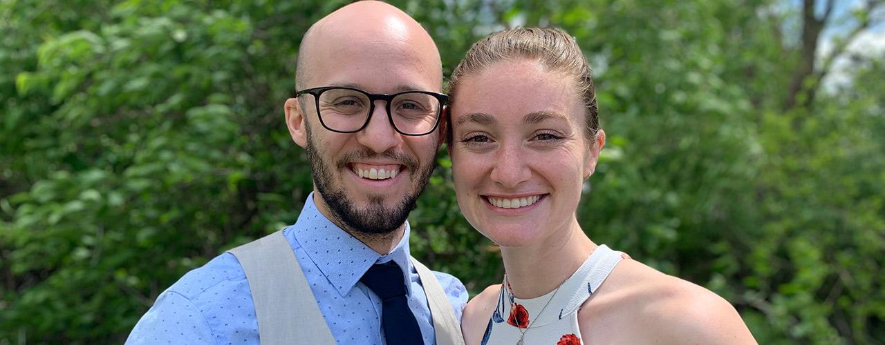 Caleb Booth and Mackenzie Davies