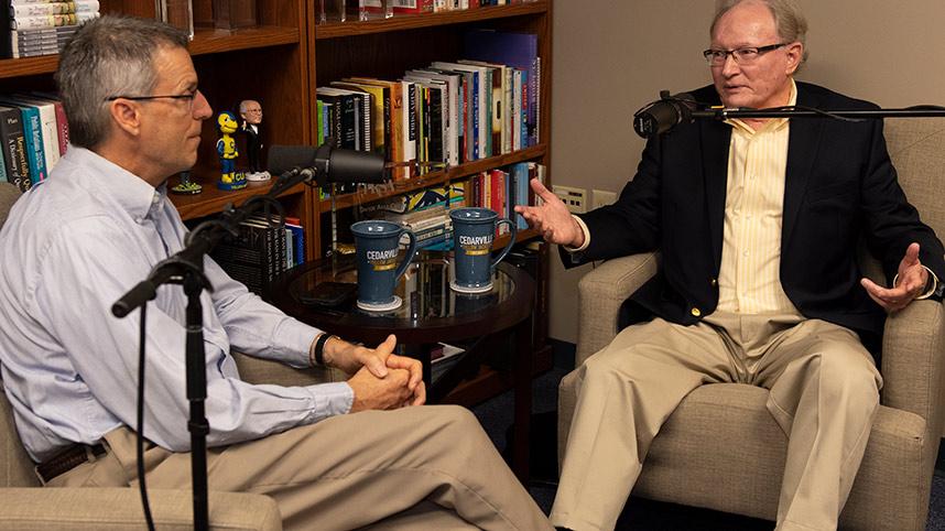 Mark Weinstein and Frank Jenista