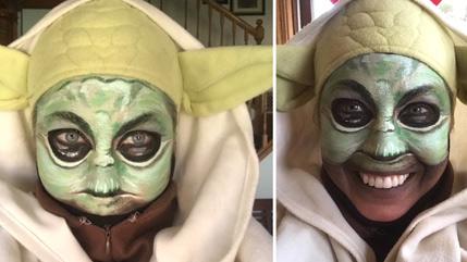 Heidi Bruder at Yoda