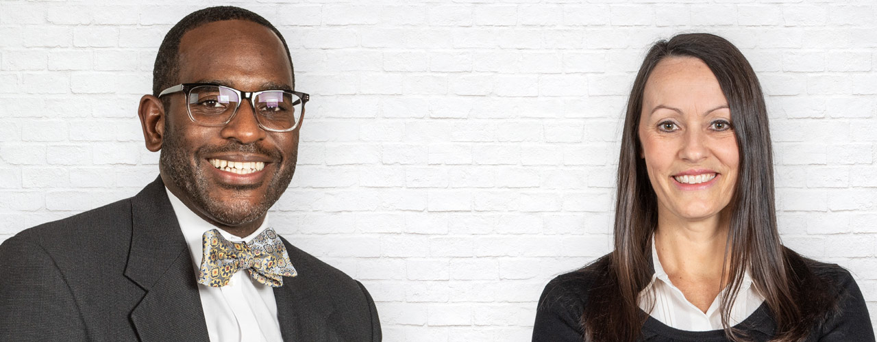 Dr. Kevin Jones and Dr. Lori Ferguson