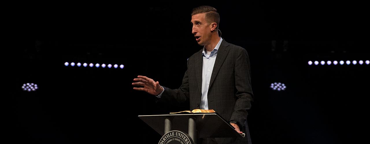 Dr. Jeremy Kimble, Director, Center for Biblical Integration, Associate Professor of Theology