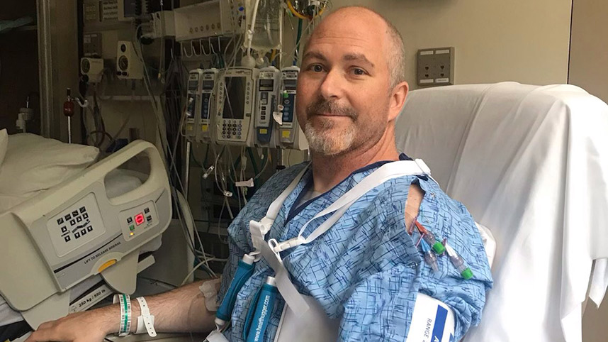 Dr. Michael McKay recovering at Kettering Medical Center