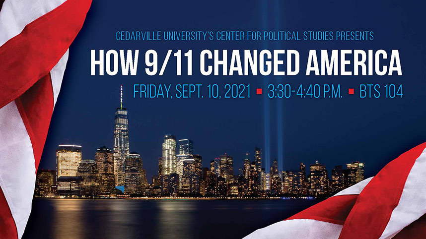 How 9/11 Changed America forum promo image