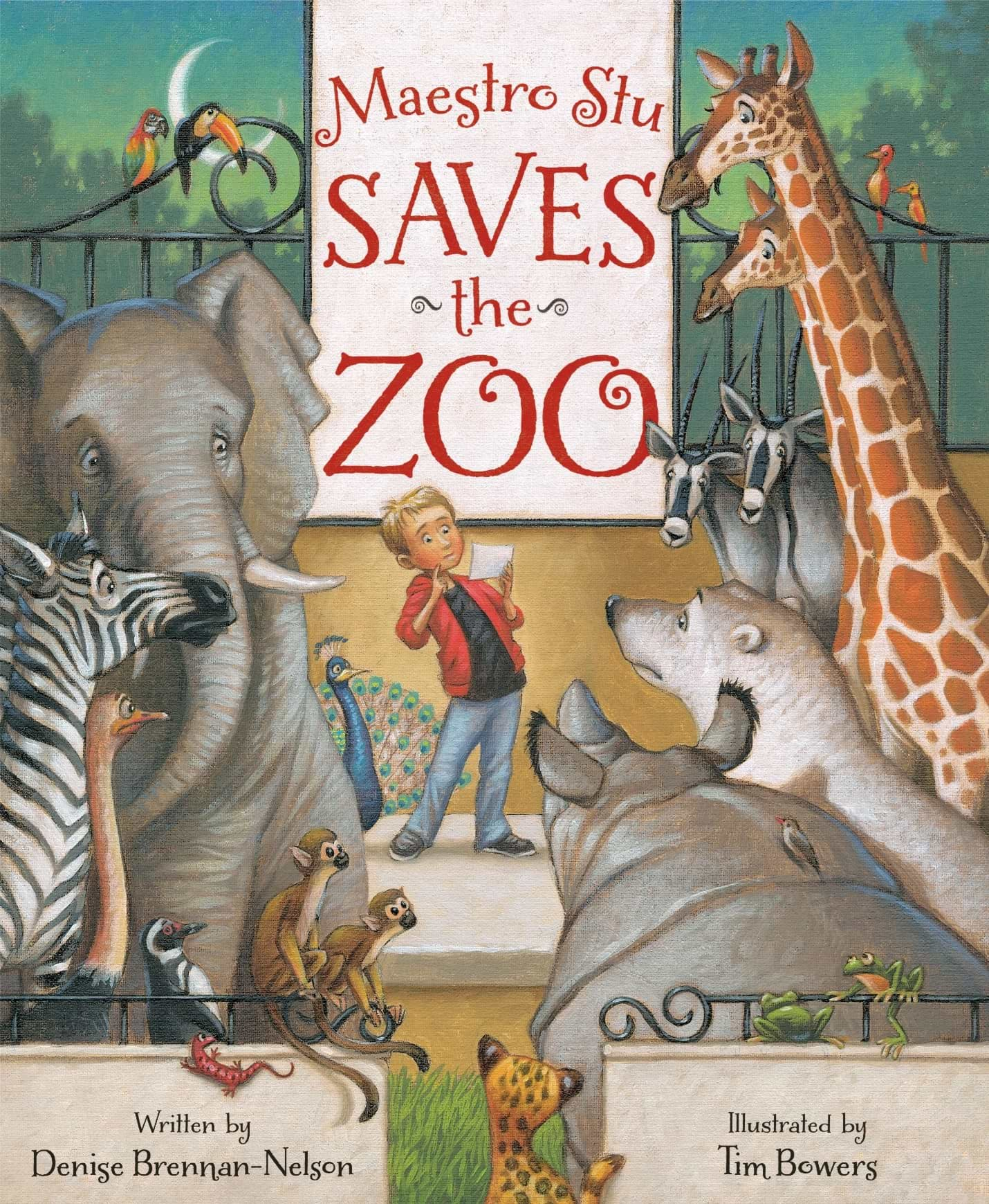 Maestro Stu Saves the Zoo book cover