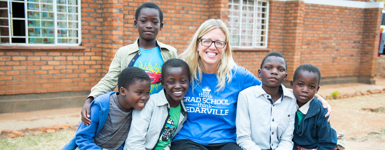 Global Health Nurse helps children in Africa