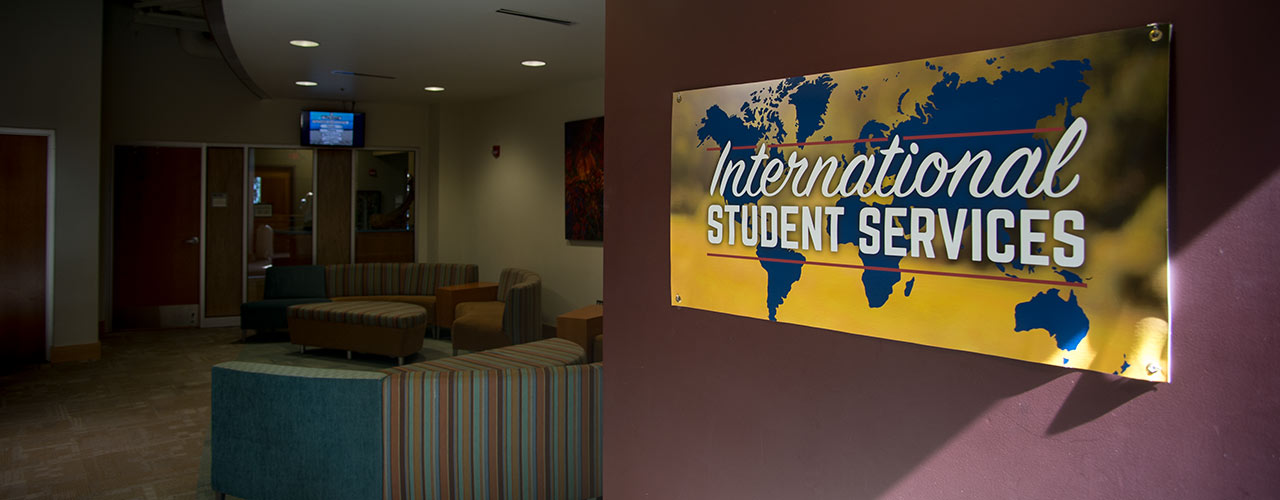 The International Student Services office