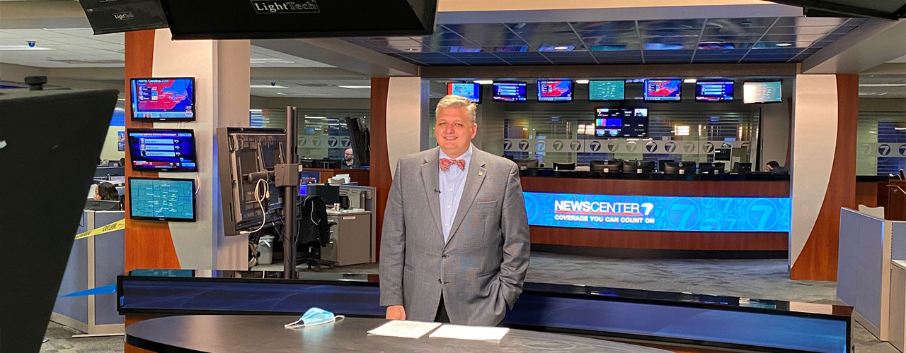 Cedarville professor Dr. Smith discusses politics on national television