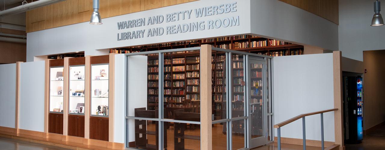 books from warren Wiersbe's library