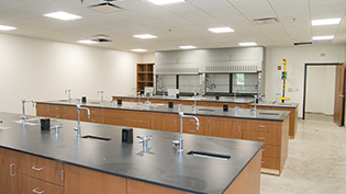 Cedarville's pristine biomedical engineering labs