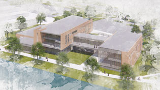 The New Business Building to Be Built on Campus