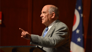 Image of Charles Murray speaking at an event