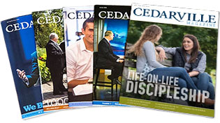 Cedarville Magazine Covers