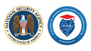 NSA and CAE logos