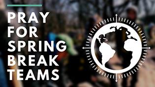 Spring Break 2020 Prayer Card