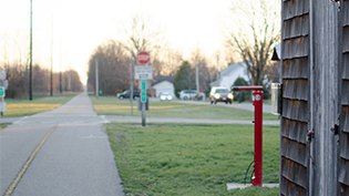 The Ohio to Erie bike trail, just minutes from Cedarville University