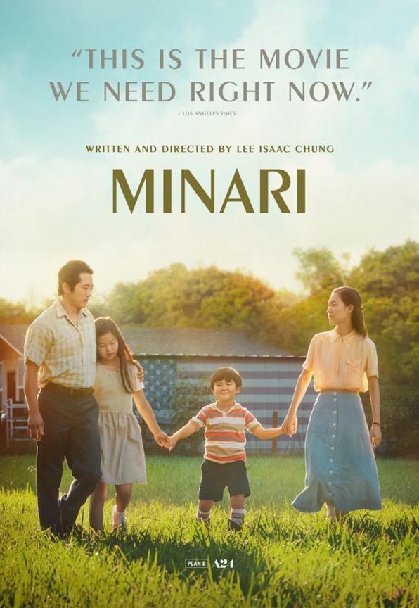 Minari movie poster.