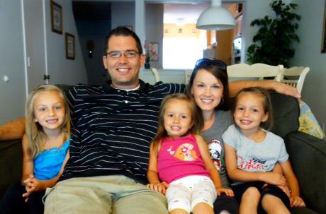 Cedarville Alumni Amanda Minor and Family