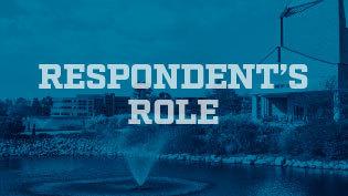 Graphic - Title IX Respondent's Role