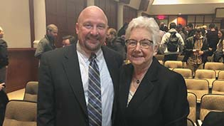 Dr. Marc Sweeney and Marialice Bennett