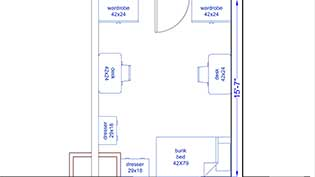 Carr Room Layout