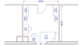 Rogers Room Layout