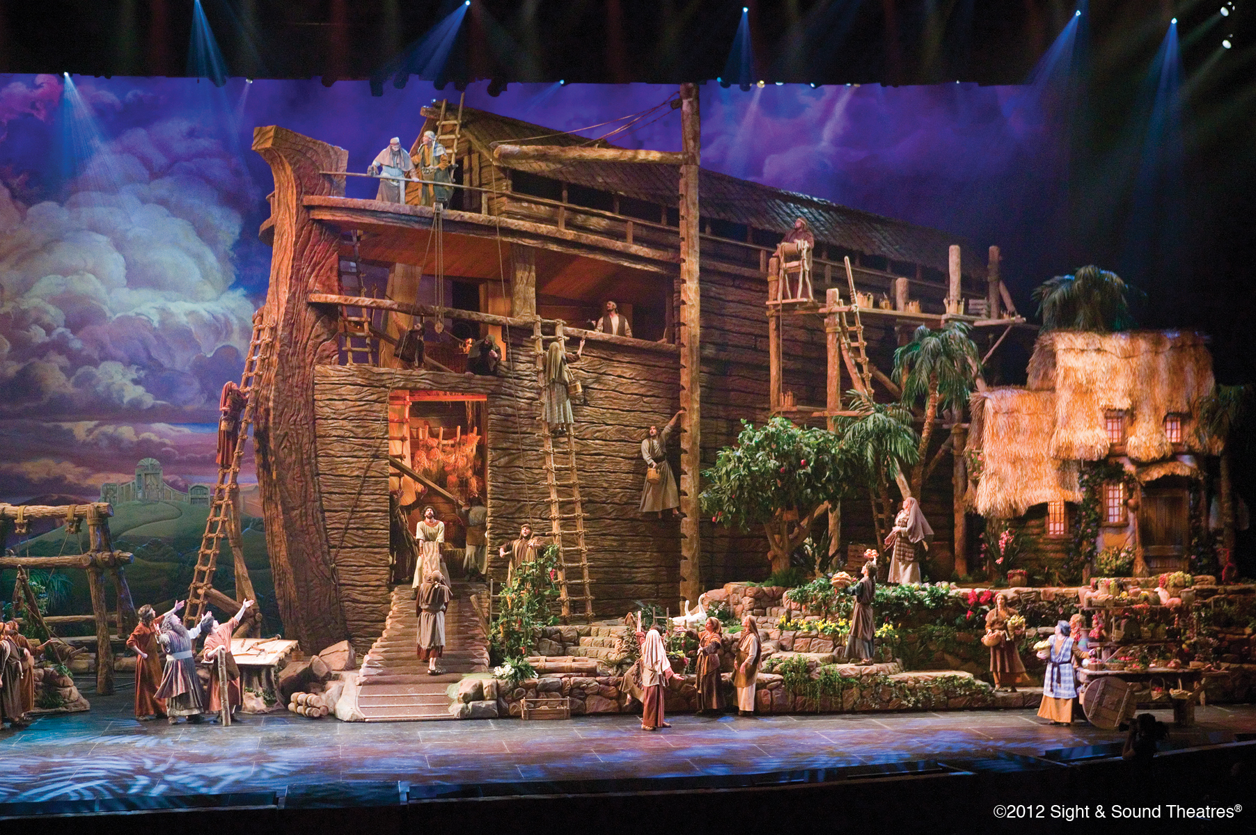 noah's ark by sight and sound productions