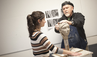 Sculpture Professor Mellick
