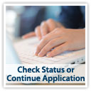 Check Status or Continue Application