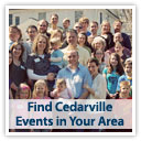 Find Cedarville Events in Your Area