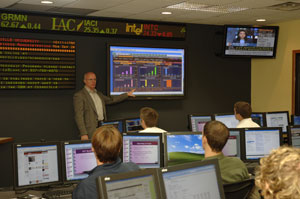 Key Establishes  Financial Trading Center for Business Students