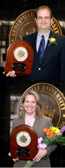Faculty and Staff Members of the Year Named