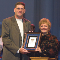 Clark Honored as NAIA Coach of Character