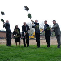 Groundbreaking Held for the CBTS