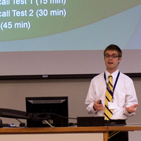 Cedarville University Hosts OUPRC