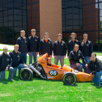 Formula Car Finishes Strong