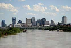 Nashville, Tennessee River Flooding