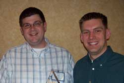 Eric Jingst '05 and Aaron Dirr '99 receive NRB award