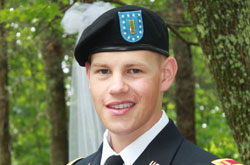 ROTC - Joshua Tucker, Marshall Award Recipient
