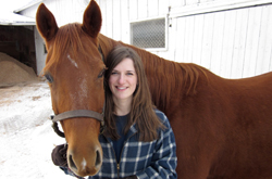 Mary Slifka was recently accepted into The Ohio State University's College of Veterinary Medicine grad program