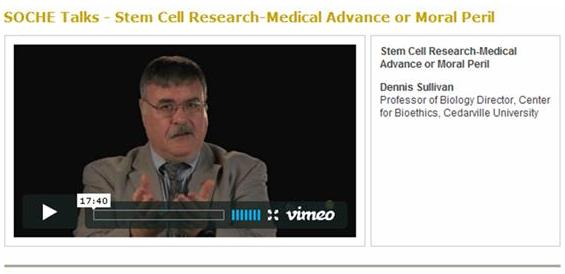 Dennis Sullivan, Professor of Biology Director, Center for Bioethics, Cedarville University