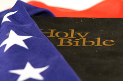 Flag Wrapped Bible