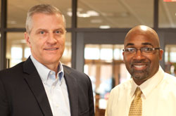 Jeff Reep and Ken Rucker, Cedarville University Career Services