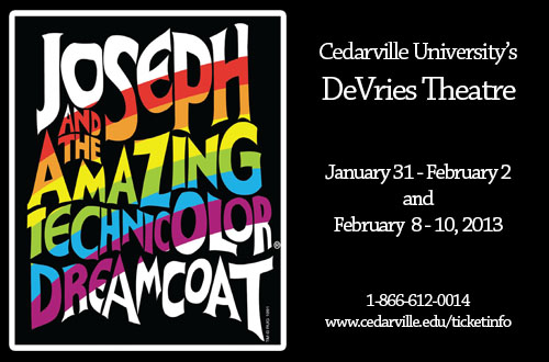 Joseph and the Amazing Technicolor Dreamcoat Artwork